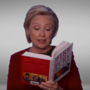 Grammys feature Hillary Clinton cameo in Trump book bit