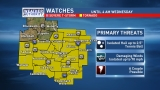 Tornado Watch issued for several mid-Missouri counties