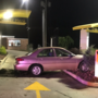 Car crashes into McDonalds' drive-thru