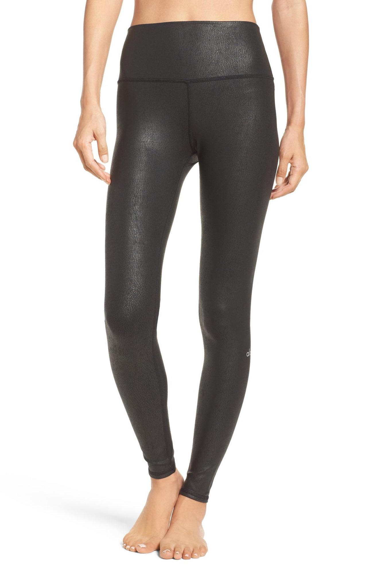 These Airbrush High Waist Leggings, $82, are a perfect example of workout pants that can transition into everyday pants.  Wear to yoga then throw on a long tank and leather coat.  PERF. (Image: Nordstrom)