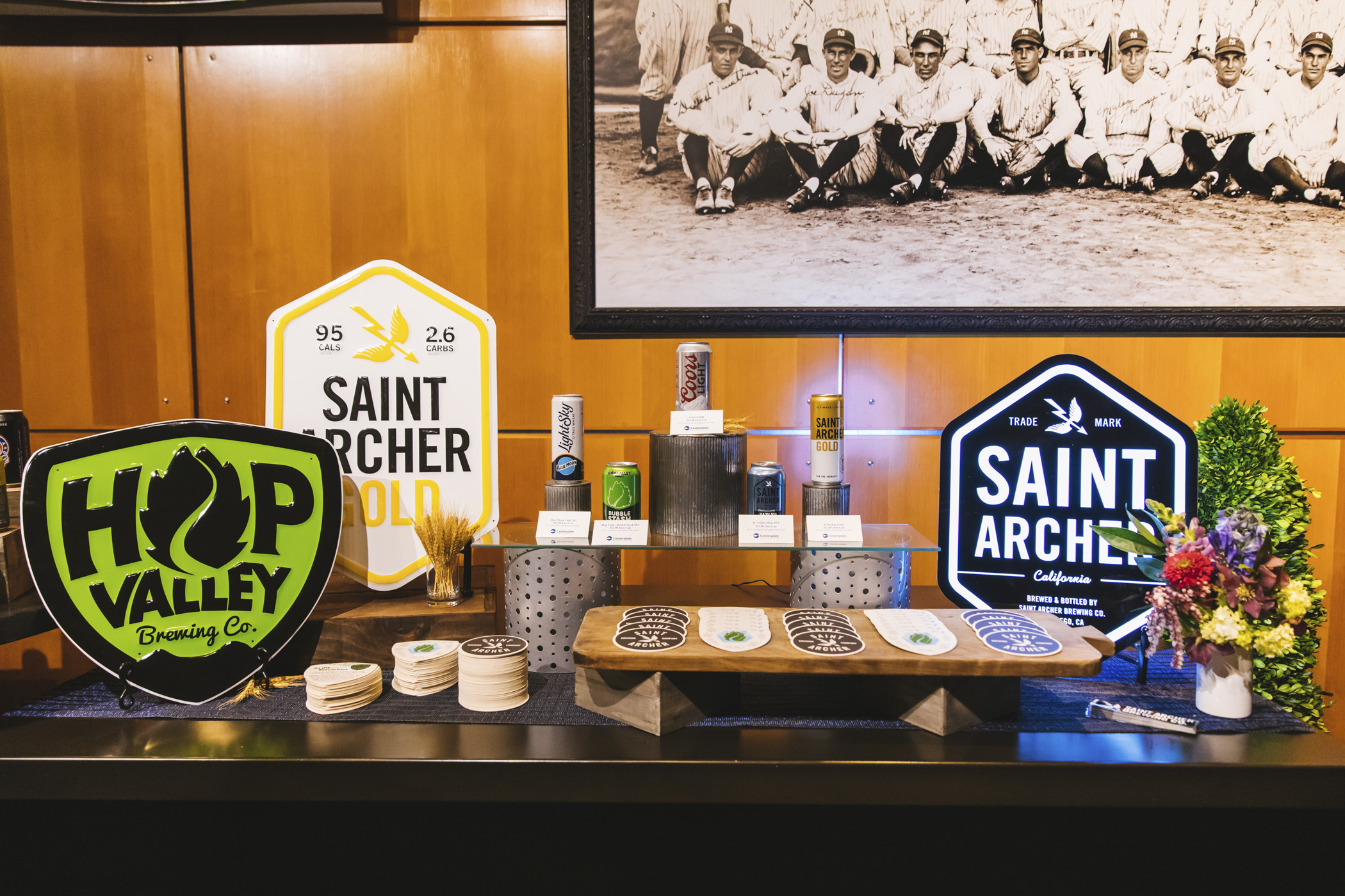 We snuck in a little preview of the beer, wine and spirits offerings for the 2020 Seattle Mariners season at T-Mobile Park! Home Opener is March 26 at 1:10 p.m. agains the Rangers. Go M's! (Image: Sunita Martini / Seattle Refined)