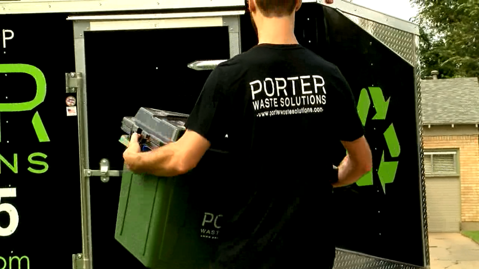Reduce, reuse, recycle: Local company bringing residential recycling