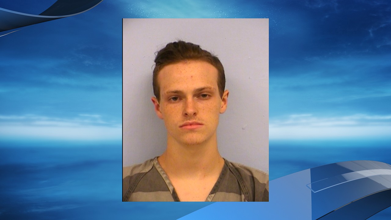 20-year-old Chandler Allen Bullen was arrested after police say he left an 8-month-old puppy in a hot car at a Walmart in Manor. (Photo: Austin Police Department)
