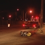 Motorcyclist injured after crashing into pole in Pawtucket
