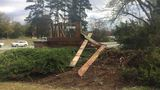 Ocmulgee park entrance sign destroyed in car crash