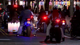 Police step up patrols as Friday night bikefest festivities get underway