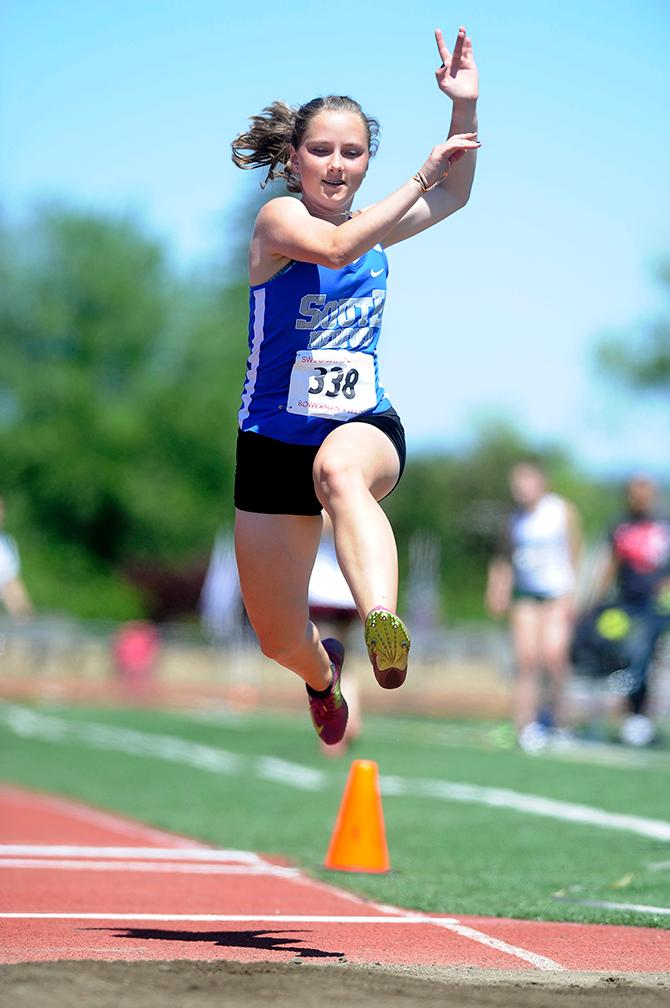 SWC Track and Field Championships Day 2.{ } Andy Atkinson / Mail Tribune