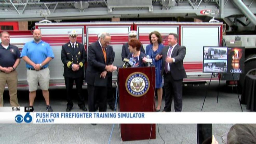 Lawmakers push DHS for fire training simulator grant   WRGB