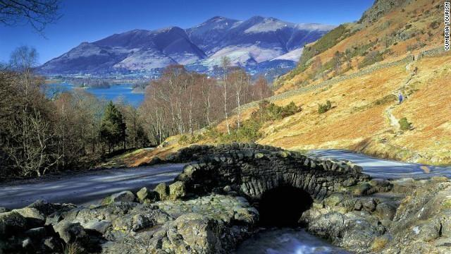 The Lake District is the glory of northwestern England, and was a favorite of poets Wordsworth and Coleridge.