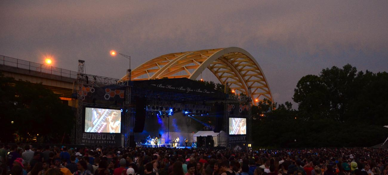 The Bunbury Festival took place June 1-3 at Sawyer Point and Yeatman's Cove. Headliners included The Chainsmokers, Incubus, and Jack White. / Image: Leah Zipperstein // Published: 6.4.18