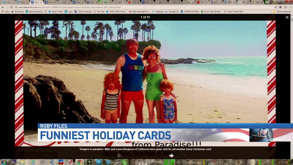 Holiday cards in #TheRobyFiles   WPEC