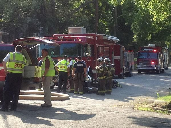 HazMat situation in Bham 6-15-12