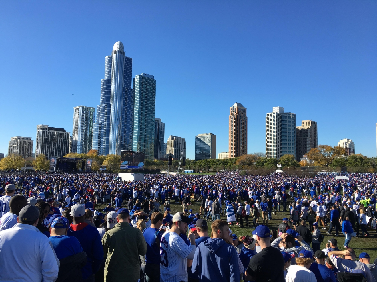Illinois Comes Together For Chicago Cubs Parade WICS