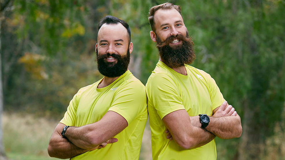 Volleyball's Beard Bros go from beach to 'Amazing Race'
