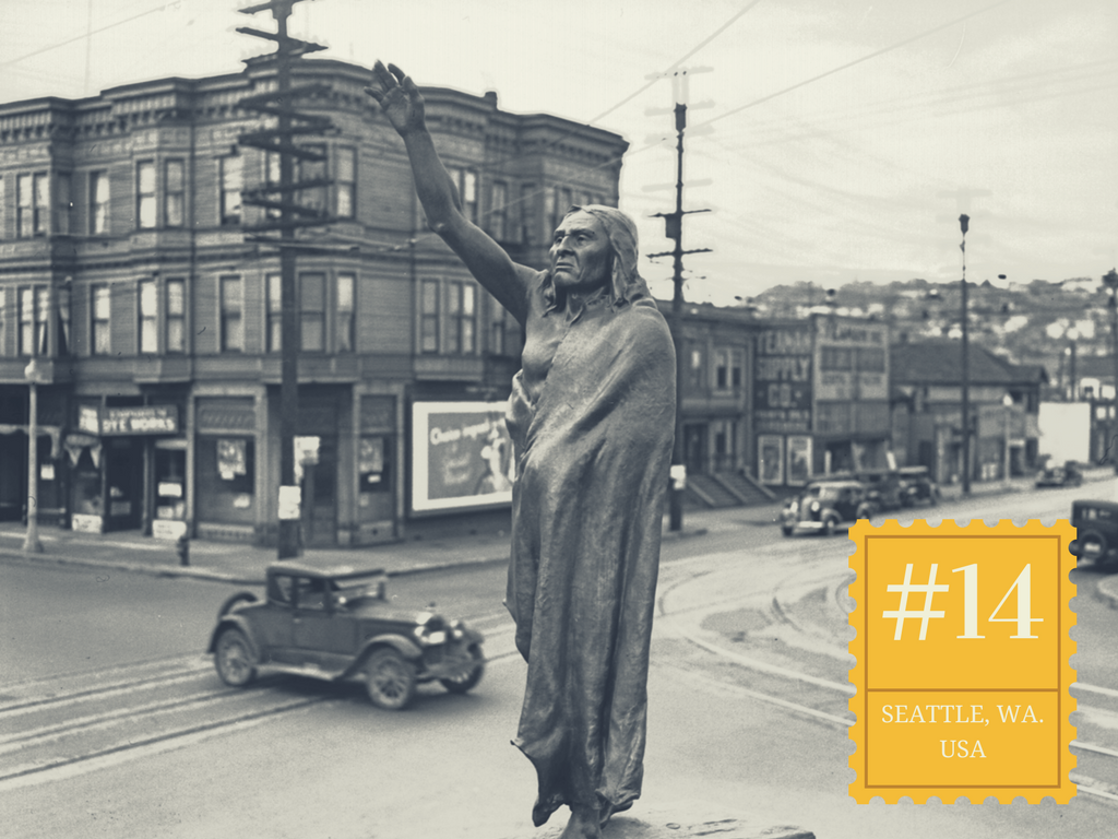 Fact #14 is (keep clicking)...  (Image: Seattle Municipal Archives).