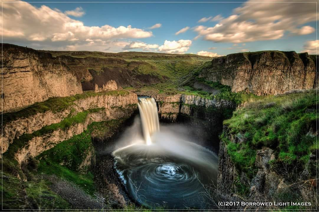 Cliff W Estes / Borrowed Light Images --  Palouse Falls