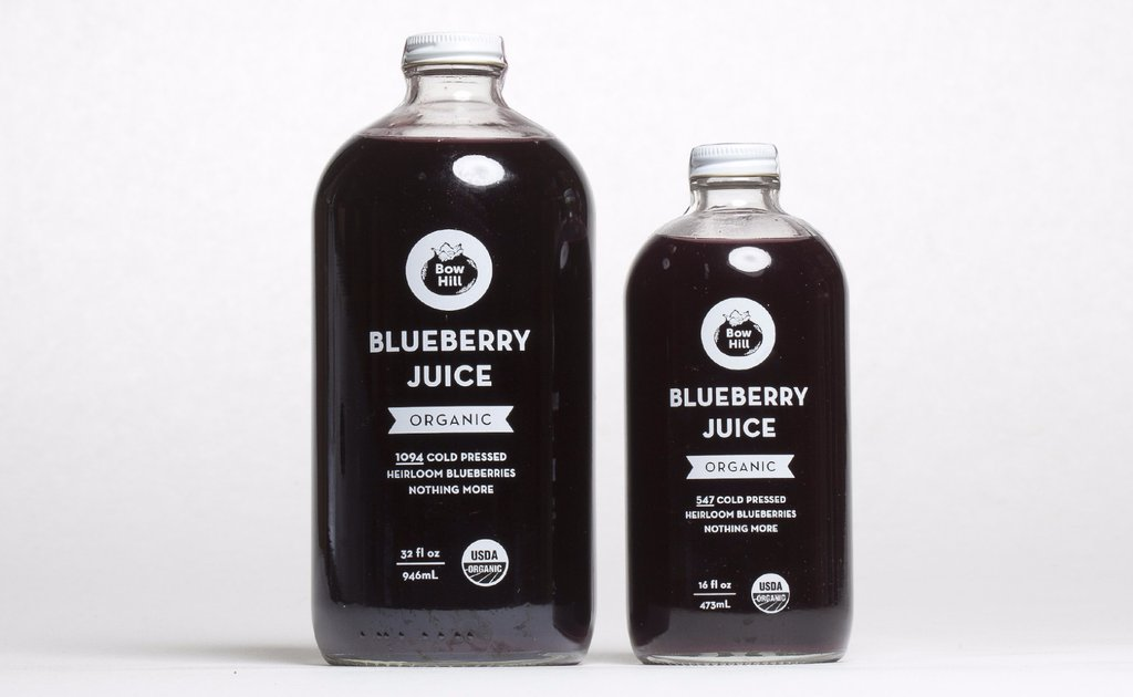 The oldest family-run blueberry farm in Washington lies just to the north in the Skagit Valley. Bow Hill Blueberries is has a number of heirloom blueberry varietals which are grown organically.  Their cold-pressed juice is pure blueberry. The juice is extracted and the skins are dried and macerated before being made into a powder. The powder is excellent in smoothies, ice cream or anywhere calling for a fruity flavoring. The heirloom blueberries have a deep, intense color which makes them stunning in cocktails.  Bow Hill Blueberry products can be ordered online,, purchased at Central Co-op or tried at Canlis.  (Image: Bow Hill Blueberry)