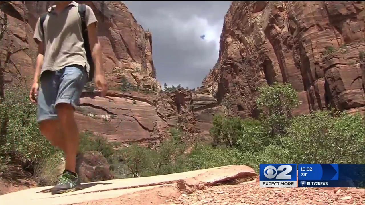 2 men die in Zion National Park Wednesday (Photo: KUTV)