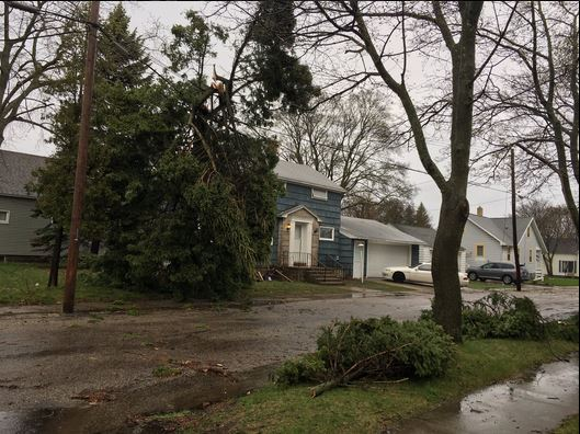 Send us your storm damage photos to burst.com/upnorthlive.com