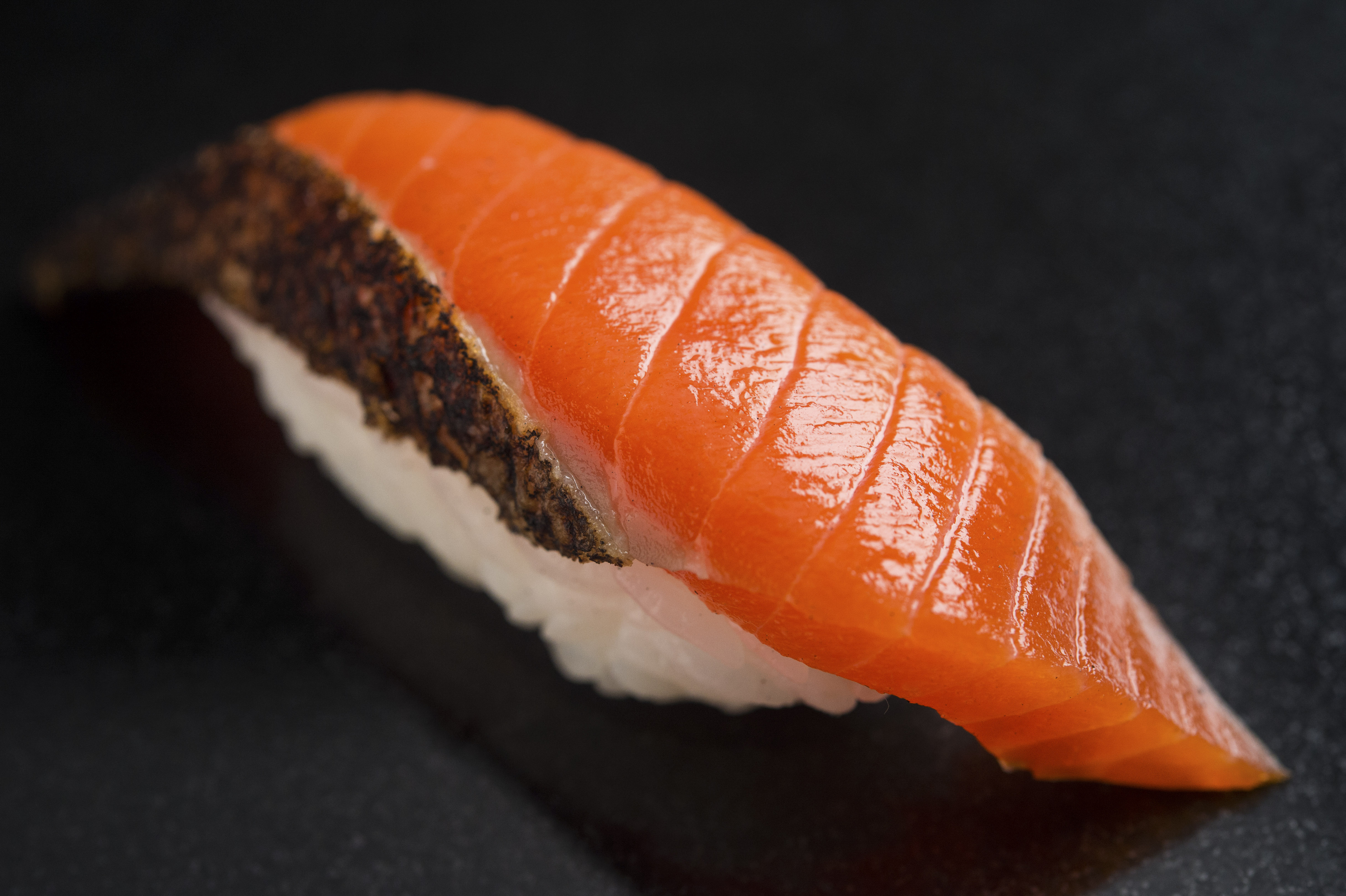 Smoked Salmon at Sushi Nakazawa (Image: Evan Sung)