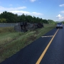 Overturned oil tanker on I-65 shuts down interstate in Shelby County
