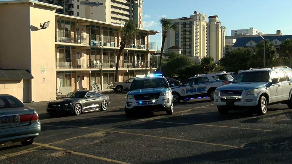 Myrtle beach police investigating stabbing at motel on for Sea banks motor inn myrtle beach
