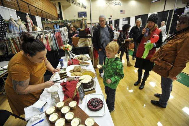 The Southern Oregon Holiday Expo is held at Central Medford High School. - Jamie Lusch