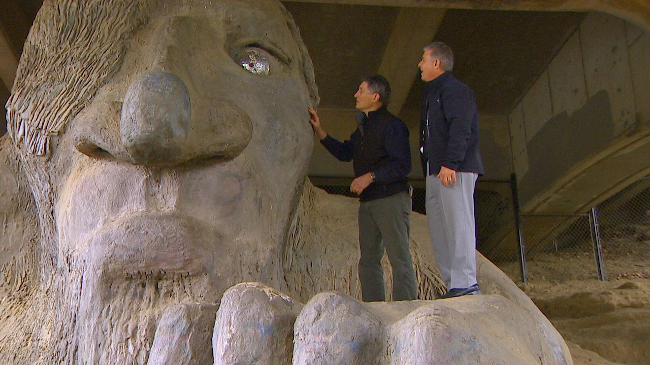 Steve Badanes and Eric Johnson. (Photo: KOMO News)