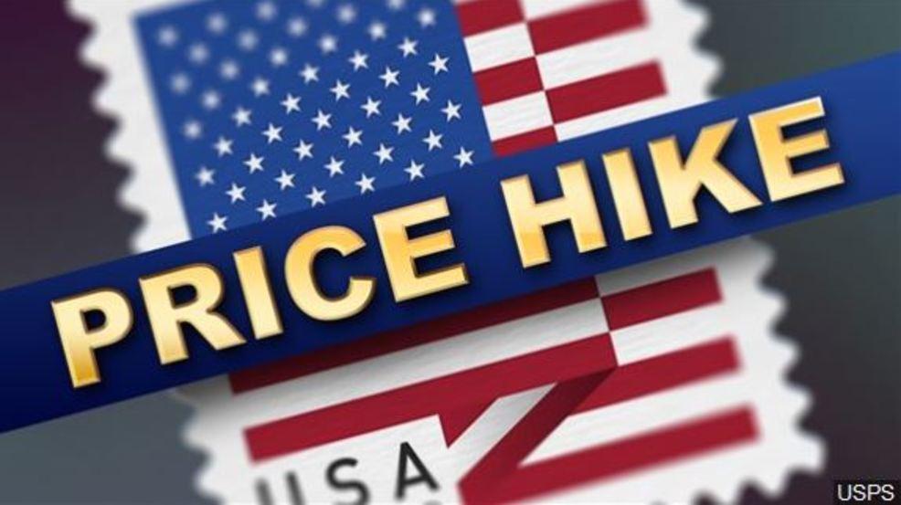 Postage stamp price hike on January 27th