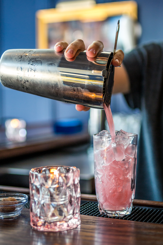 "Wódka is Polish for ""vodka,"" which reflects the bar's vodka-centric cocktails made in-house. Patrons will become familiar with the Polish term ""smacznego,"" too, which translates to ""enjoy your meal."" / Image: Catherine Viox // Published: 6.28.19"