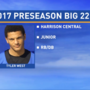 Preseason Big 22 Profile – Tyler West, Harrison Central