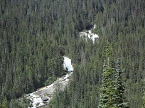 One of the many sights on the White Pass & Yukon Route train ride