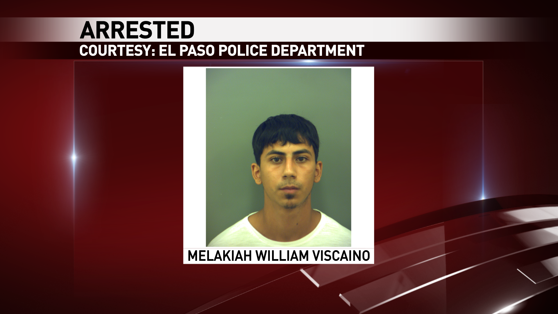 Melakiah Viscaino was charged in an aggravated robbery that happened at an east El Paso smoke shop.