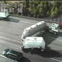 State Patrol: Jackknifed semi blocks I-5 in Everett