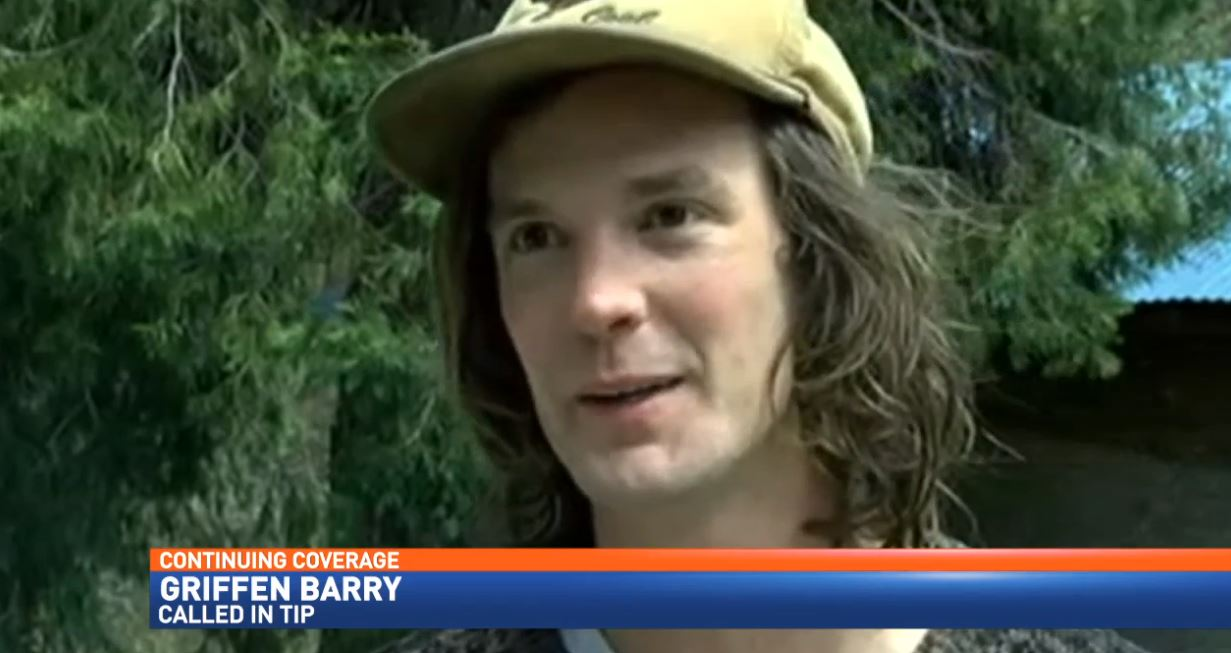 Griffin Barry, a Nashvillian living in California, called in the 911 tip regarding AMBER Alert subject Elizabeth Thomas and her accused captor Tad Cummins. (KTVL)