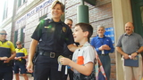9-year-old Florida boy on a mission to thank America's police officers