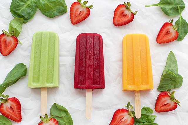 These popsicle hide healthy veggies with deliciousness. (Image Credit: Super Healthy Kids)