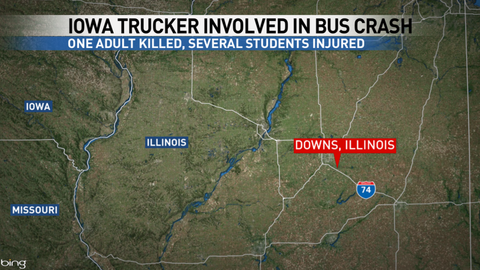 Iowa trucker responsible for deadly Illinois school bus
