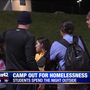 Students camp out for homelessness awareness