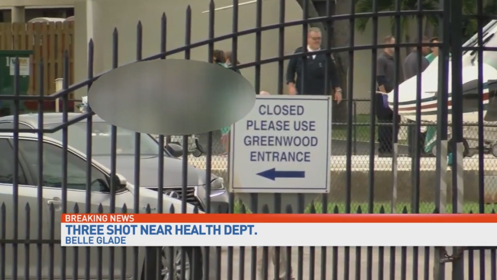 At least 3 injured in shooting near Florida health facility
