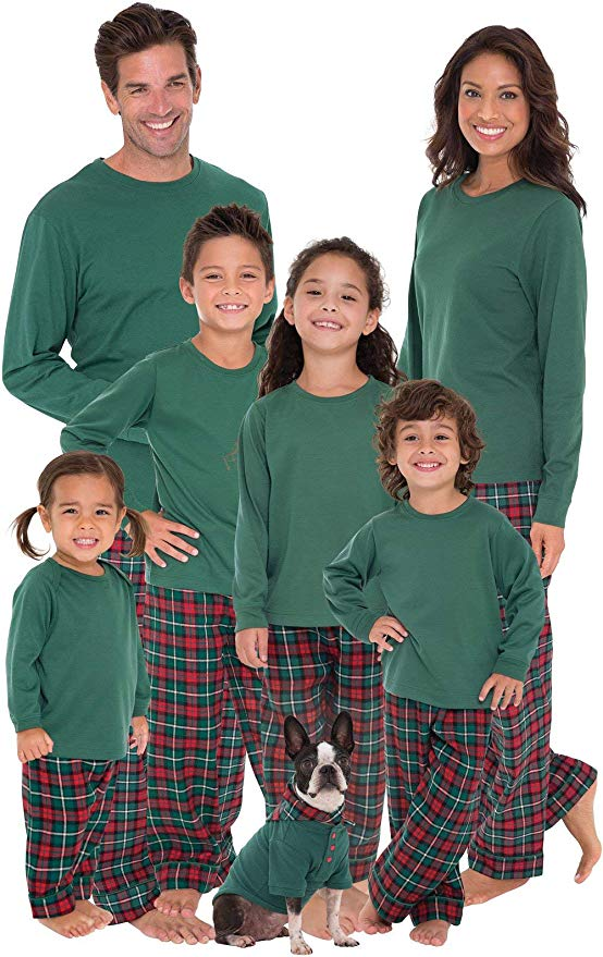 "<p>{&nbsp;}Your entire family will love these super-comfy flannel family pajamas matching sets thanks to the soft full length plaid pants with a stretchy elastic waist and coordinating long-sleeve top.{&nbsp;}<a  href=""https://www.amazon.com/PajamaGram-Family-Christmas-Pajamas-Plaid/dp/B01F9D97W4/ref=sr_1_59_sspa?crid=CN6N0M58HNKD&keywords=matching+family+christmas+pajamas+sets&qid=1575772977&sprefix=matching+f%2Caps%2C234&sr=8-59-spons&psc=1&smid=A3F7DSGAZK1RWC&spLa=ZW5jcnlwdGVkUXVhbGlmaWVyPUEyUEJJM0E5RDY4SElYJmVuY3J5cHRlZElkPUExMDIxMjUyODZCQVdLQUVNTVgxJmVuY3J5cHRlZEFkSWQ9QTA2NTAzOTYxNUJNSE5RMjMyMVNIJndpZGdldE5hbWU9c3BfYnRmJmFjdGlvbj1jbGlja1JlZGlyZWN0JmRvTm90TG9nQ2xpY2s9dHJ1ZQ=="" target=""_blank"" title=""https://www.amazon.com/PajamaGram-Family-Christmas-Pajamas-Plaid/dp/B01F9D97W4/ref=sr_1_59_sspa?crid=CN6N0M58HNKD&keywords=matching+family+christmas+pajamas+sets&qid=1575772977&sprefix=matching+f%2Caps%2C234&sr=8-59-spons&psc=1&smid=A3F7DSGAZK1RWC&spLa=ZW5jcnlwdGVkUXVhbGlmaWVyPUEyUEJJM0E5RDY4SElYJmVuY3J5cHRlZElkPUExMDIxMjUyODZCQVdLQUVNTVgxJmVuY3J5cHRlZEFkSWQ9QTA2NTAzOTYxNUJNSE5RMjMyMVNIJndpZGdldE5hbWU9c3BfYnRmJmFjdGlvbj1jbGlja1JlZGlyZWN0JmRvTm90TG9nQ2xpY2s9dHJ1ZQ=="">Shop it{&nbsp;}</a>- $52.99. (Image: Amazon){&nbsp;}</p>"