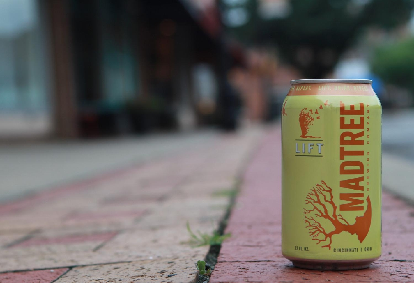 LIFT by MadTree Brewing / This Kolsch is crisp and delicious with an orange aftertaste that will lift (yep) your spirits. / Image courtesy of MadTree Brewing // Published: 1.10.17