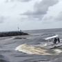 VIDEO: Boat nearly capsizes in Jupiter Inlet