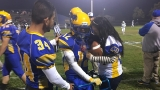 Calif. high school senior with cerebral palsy scores epic first touchdown