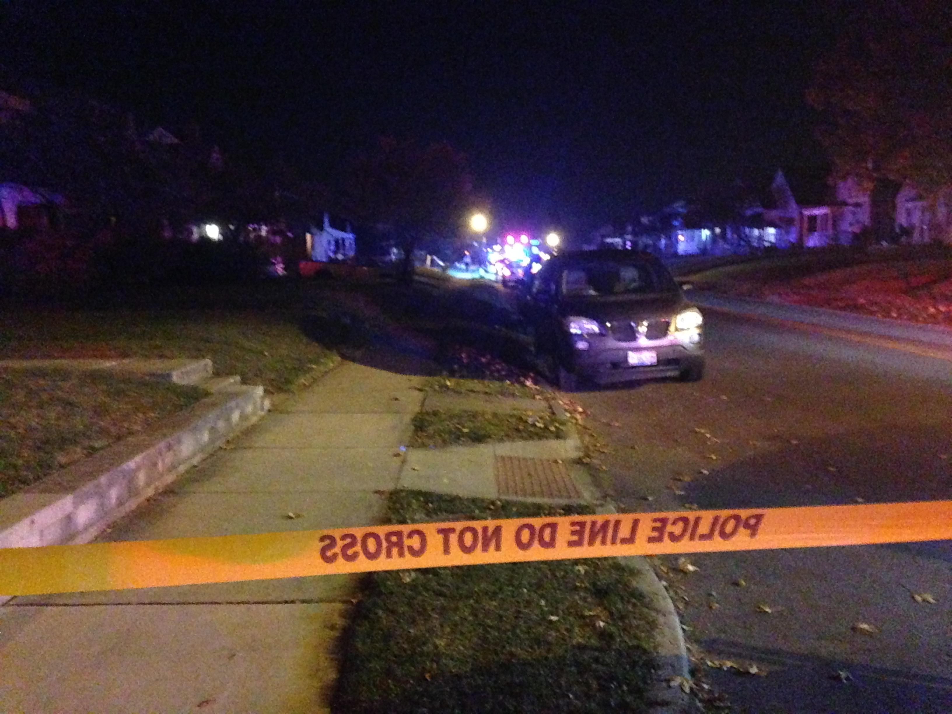 Police received a 911 call early Tuesday morning about a shooting on South Hague Avenue, and found three people shot at the home. One survived but is in critical condition. (WSYX/WTTE)