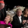 Cardinal says candidates exchanged kind words at charity dinner