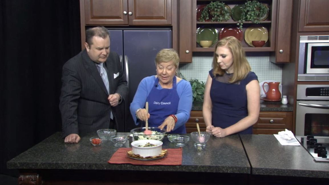 Joyce Fikri from the St. Louis Dairy Council joins us in the kitchen with her spinach artichoke dip recipe. (WICS)