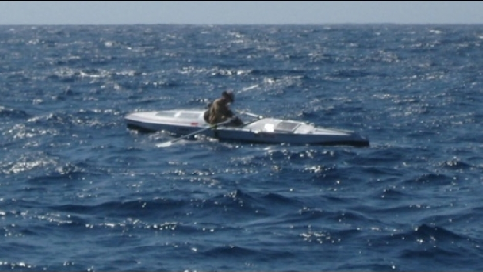 Bainbridge Teacher Nears Goal Of Rowing From San Diego To Honolulu Komo