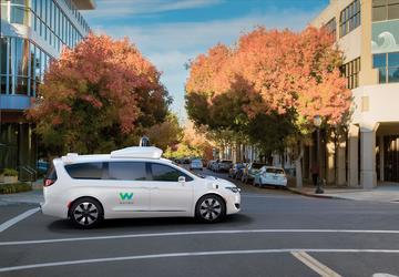 Waymo rolls out autonomous vans without human drivers