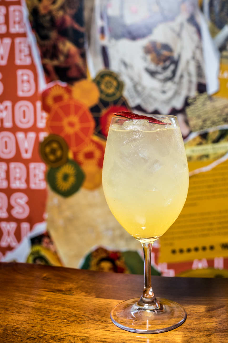 Mango Margarita: tequila, fresh lime, and mango-chili soda / Image: Catherine Viox // Published: 1.23.20